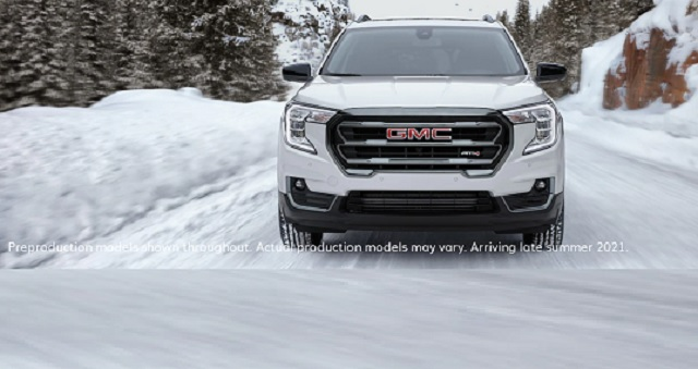 2022 GMC Terrain AT4 front