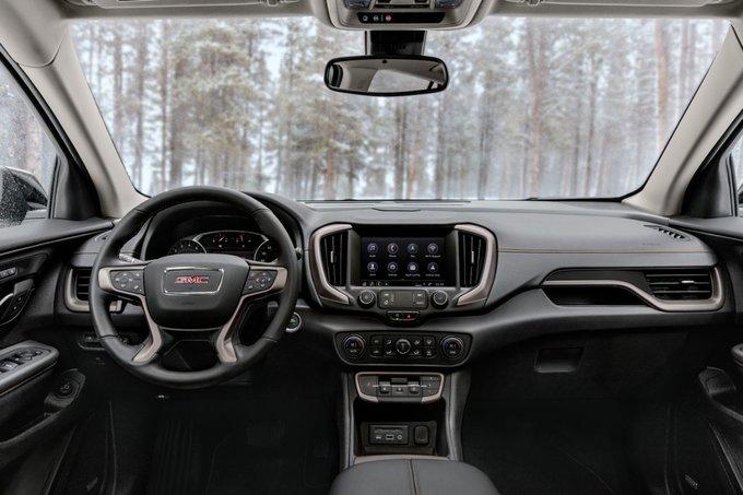 2022 GMC Terrain AT4 interior