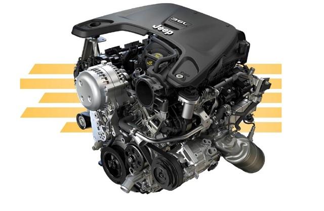 2022 Jeep Wrangler engine