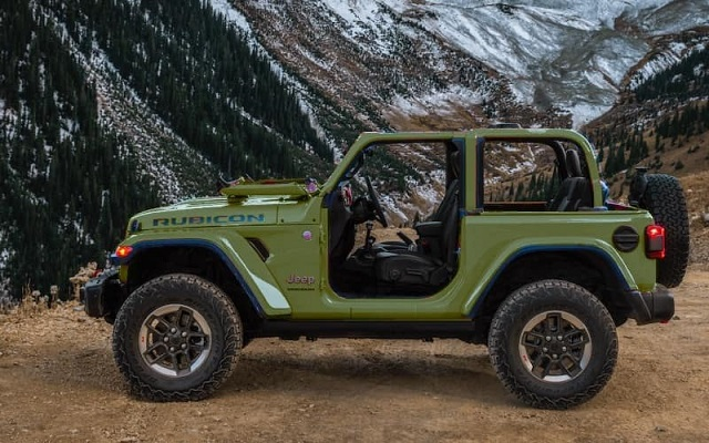 2022 Jeep Wrangler side