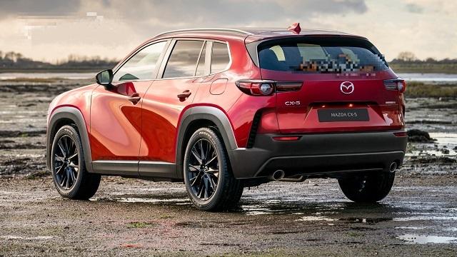 2022 Mazda CX-5 rear