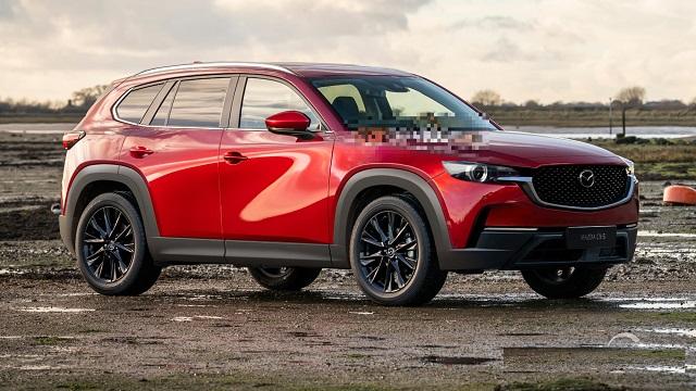 2022 Mazda CX-5 front