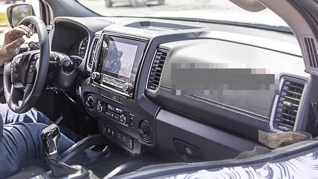 2022 Nissan Xterra cabin