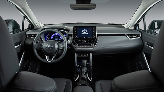 2022 Toyota Corolla Cross interior