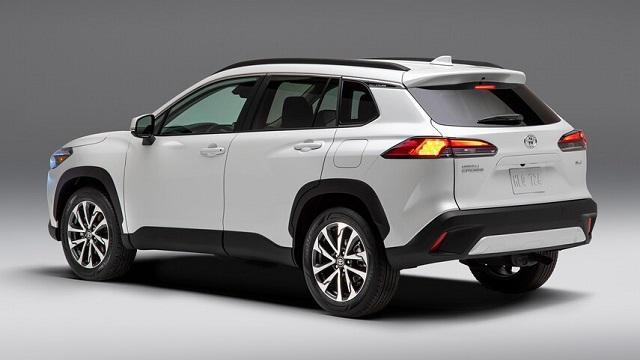 2022 Toyota Corolla Cross rear