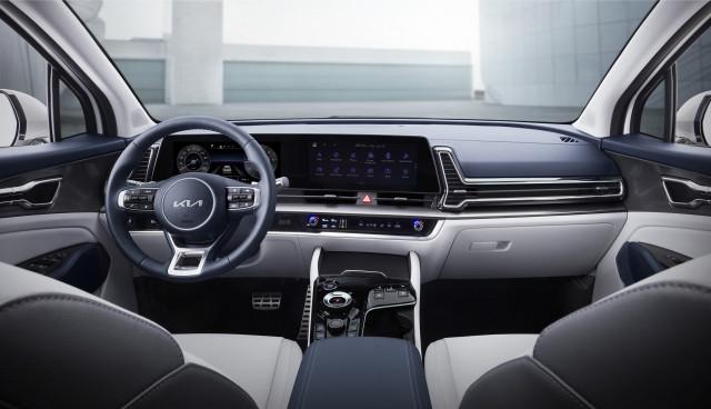 2023 Kia Sportage interior