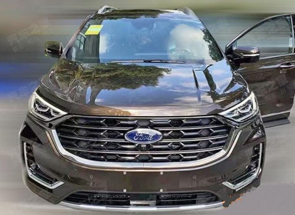 2023 Ford Edge front