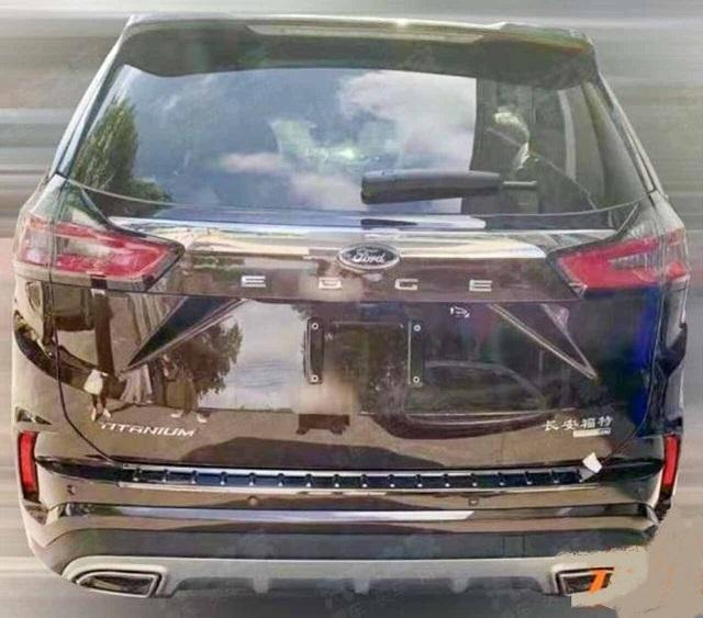 2023 Ford Edge rear