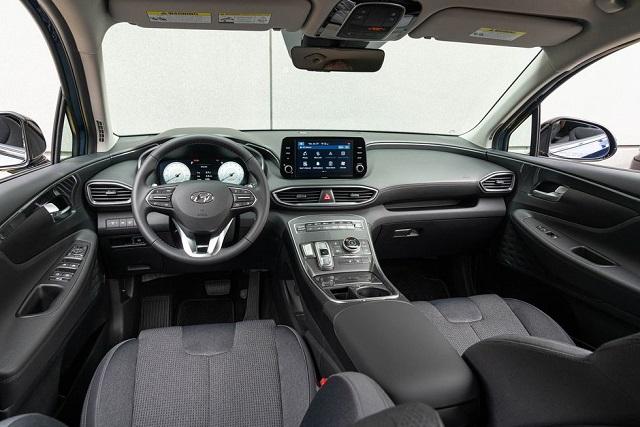 2023 Hyundai Santa Fe interior