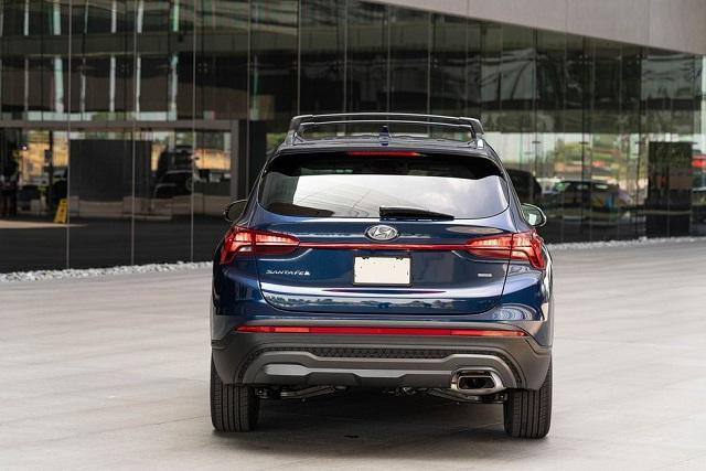 2023 Hyundai Santa Fe rear