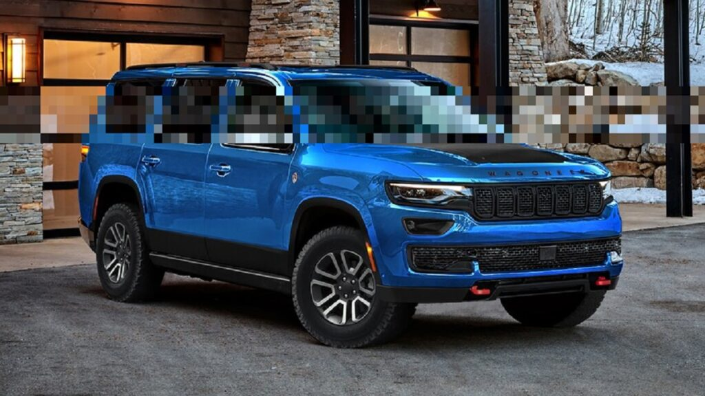 2023 Jeep Wagoneer Trailhawk front