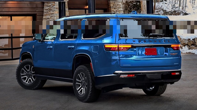 2023 Jeep Wagoneer Trailhawk rear