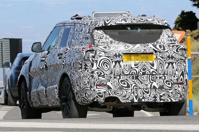 2023 Land Rover Range Rover Sport rear