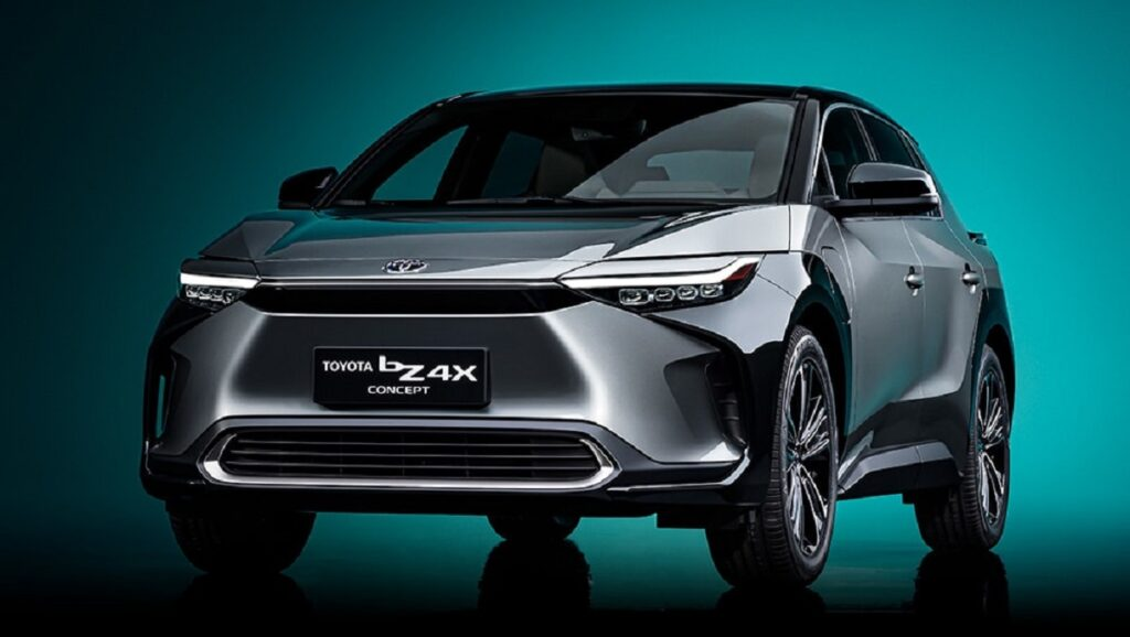2023 Toyota bz4X front