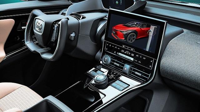 2023 Toyota bz4X interior