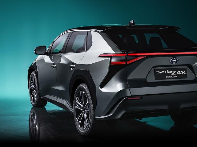 2023 Toyota bz4X rear