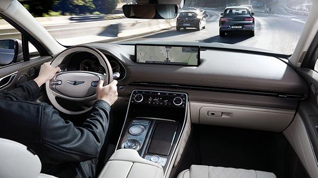 2023 Genesis GV80 interior
