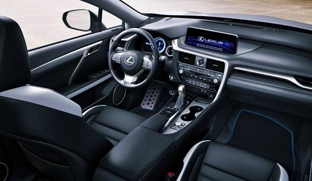 2023 Lexus RX interior