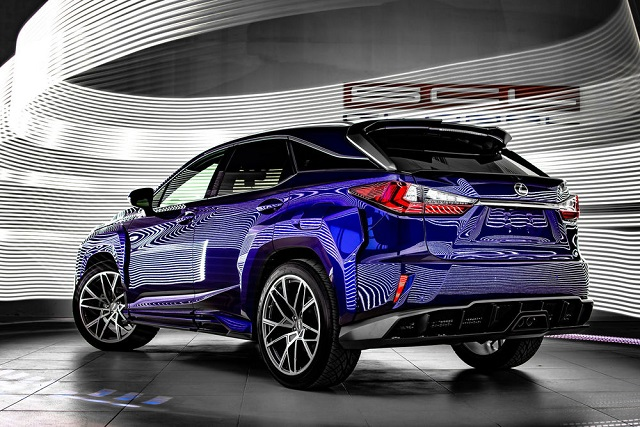 2023 Lexus RX rear