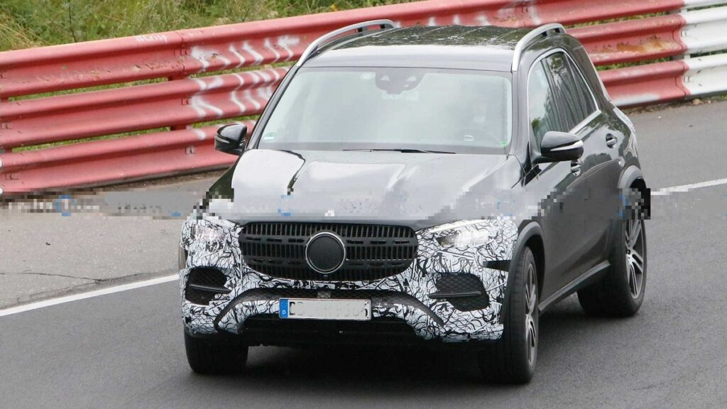 2023 Mercedes-Benz GLE front