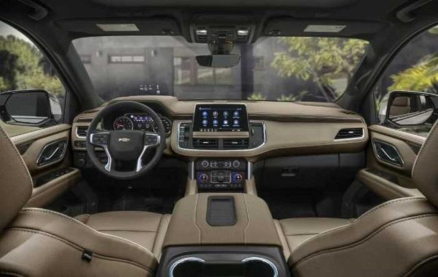 2023 Chevy Suburban interior