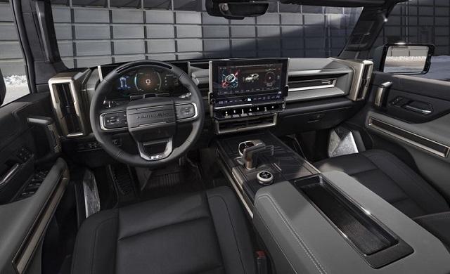 2023 GMC Hummer EV interior