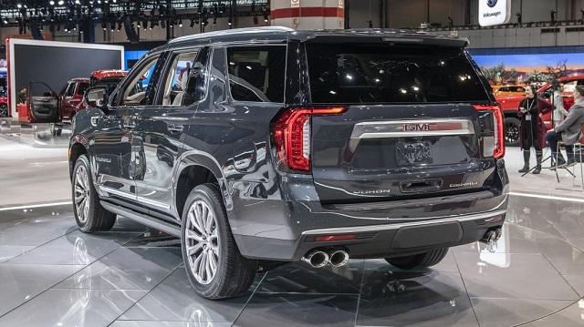2023 GMC Yukon rear