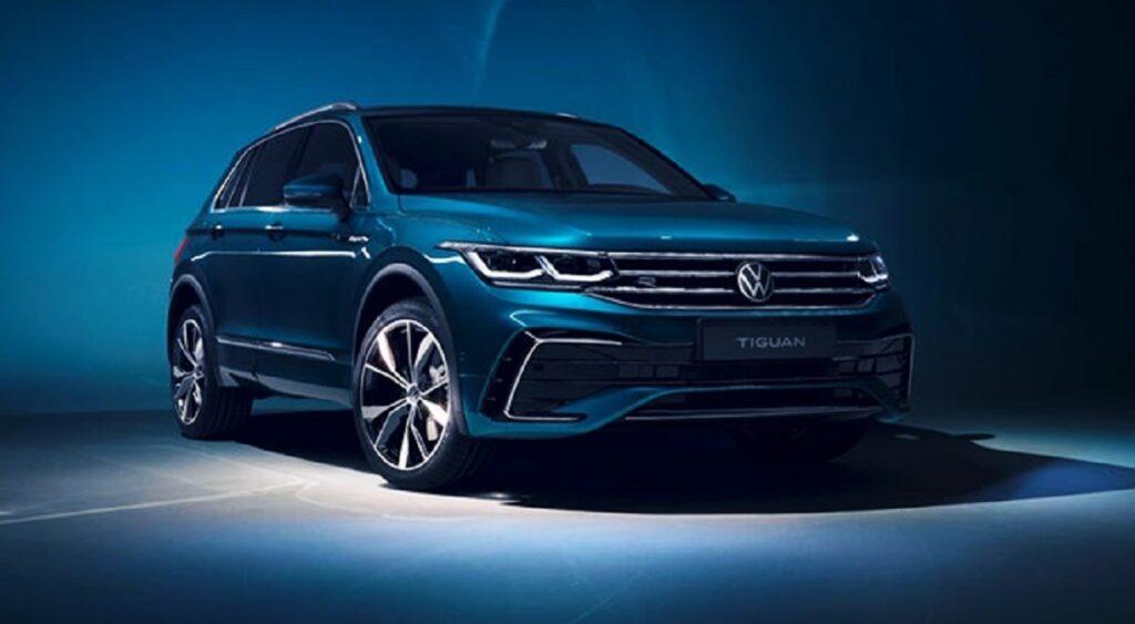 2023 Volkswagen Tiguan front
